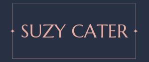 SUZY CATER LOGO