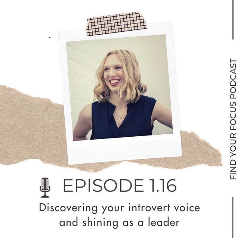 Suzy Cater Find Your Focus podcast